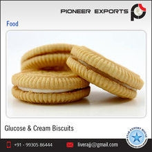 Wholesale Supplier Glucose & Cream Biscuits