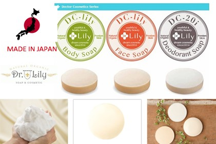 Moisturizing and Very effective body hair removing soap Dr.Lily with multiple functions