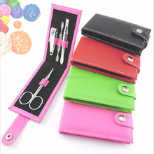 Professional 4 in 1 Pocket Size Manicure Pedicure Set Kit Nail Care Clipper Tool