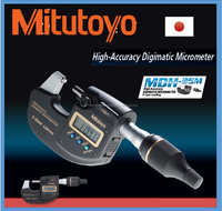 Accurate and High quality count outside Mitutoyo micrometer for innovative 0.0001mm resolution