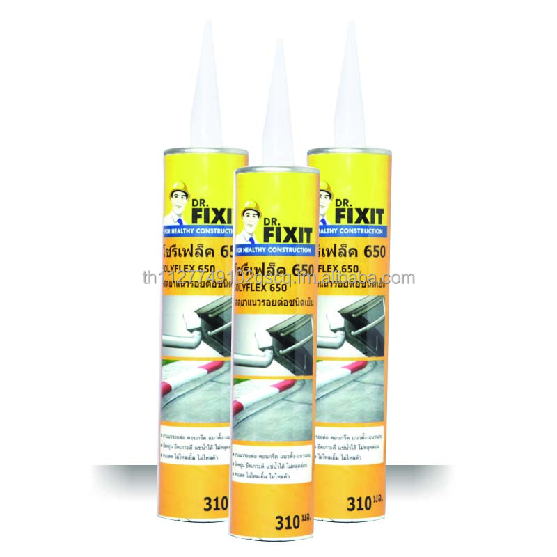 Damp Apply 310 ml Bitumen Joint Sealant Dr.Fixit Solyflex 650