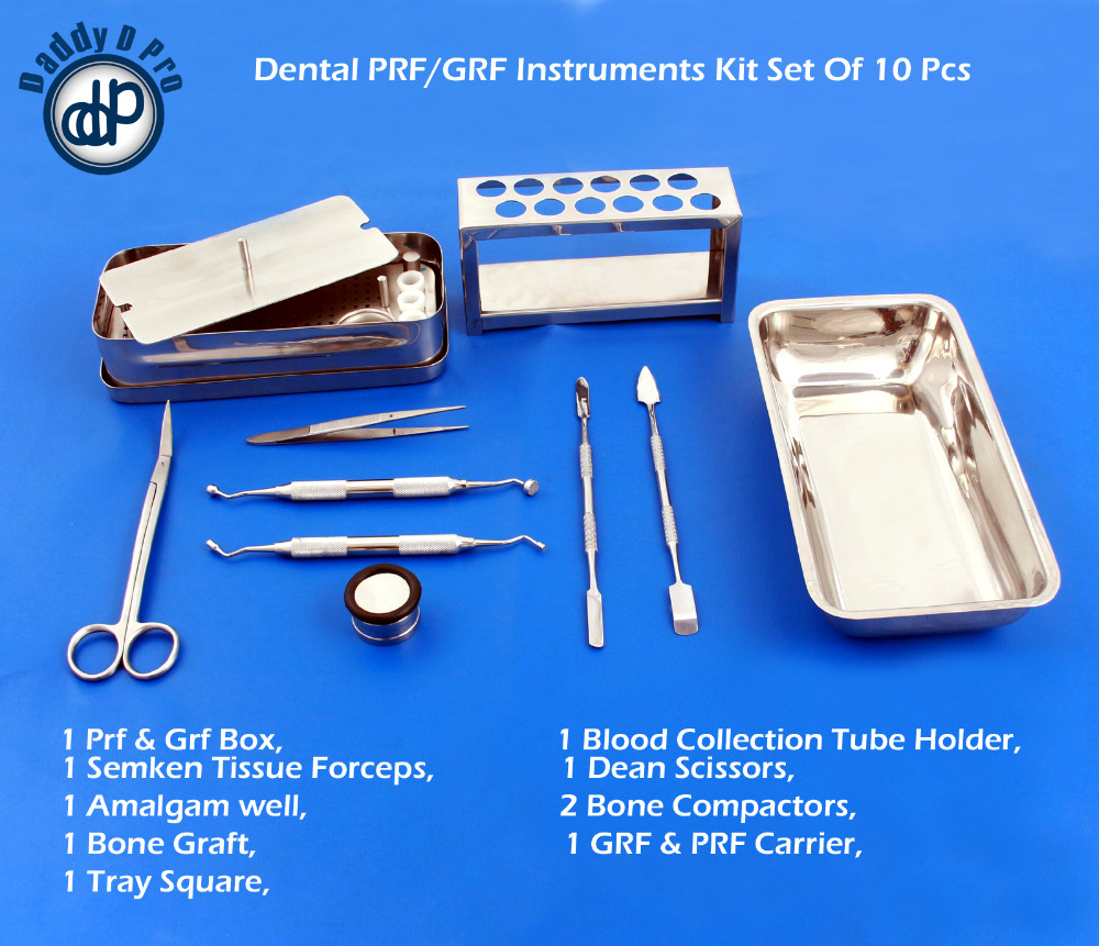 PRF BOX AND GRF COMPLETE KIT SET WITH INSTRUMENTS