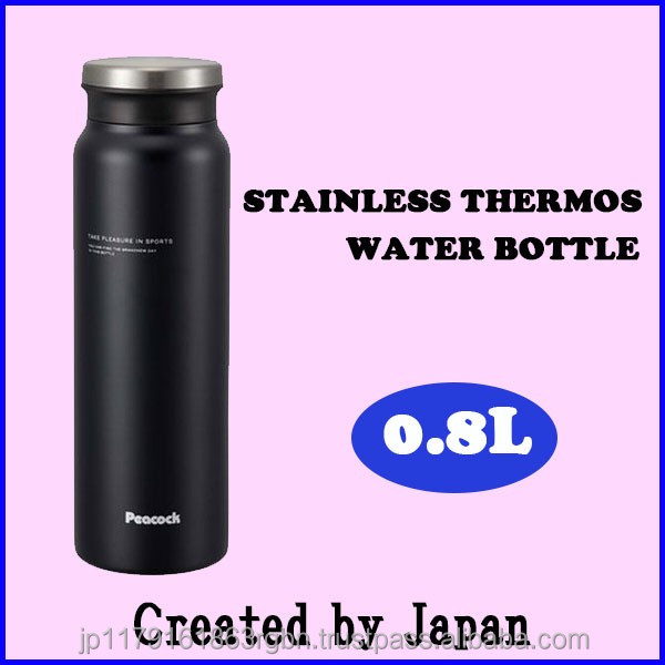 Stylish & compact thermos stainless steel bottle , easy to wash & drink