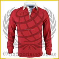 LONG SLEEVE CUSTOM RUGBY SHIRTS STRIPED RUGBY SHIRTS / JERSEY