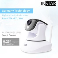 Wireless N H.264 Megapixel Surveillance IP Camera P2P connection support onvif 6014HD