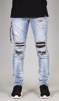 Design Your Own Biker Jeans Men
