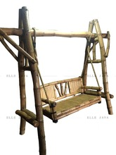 Hotest Sale Garden Furniture Bamboo Swing
