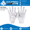 White Cabretta Golf Gloves