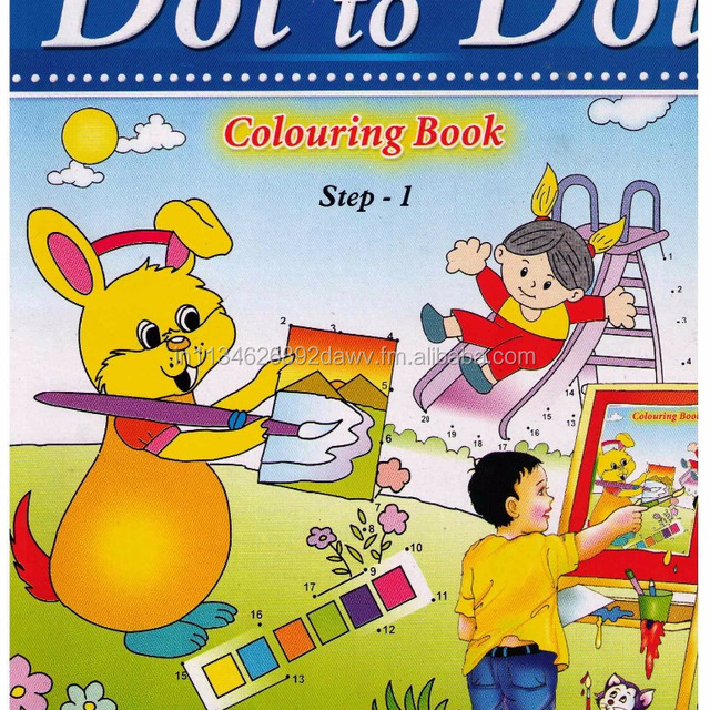 Colouring Books Set of 6