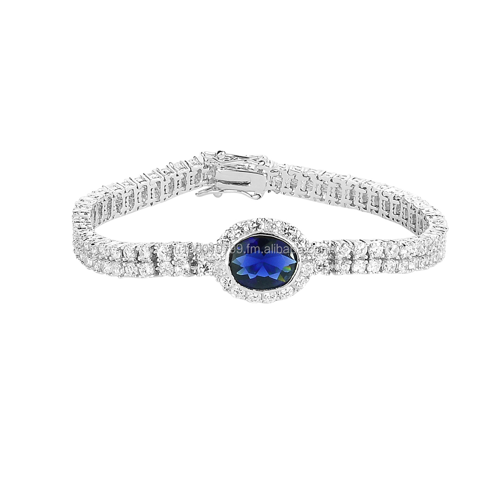 Sparkles like perfect diamonds Bridal Bracelet