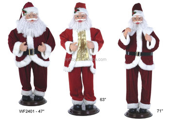 Huge Santa Robot Santa Claus Giant Big Dancing Musical Santa Animated Singing Santa