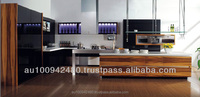 KITCHENS / piano / metalic finish painting/ laminate / MDF/ Melamine Kitchen Cabinet