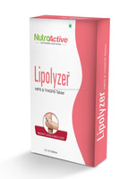 Lipolyzer Hips & Thighs Tablet for weight loss & slimming