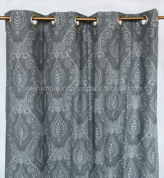 New Fancy Design Hot Sale Printed Office Window Curtain for Decoration