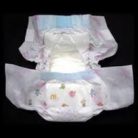 Baby diaper for good home made in USA
