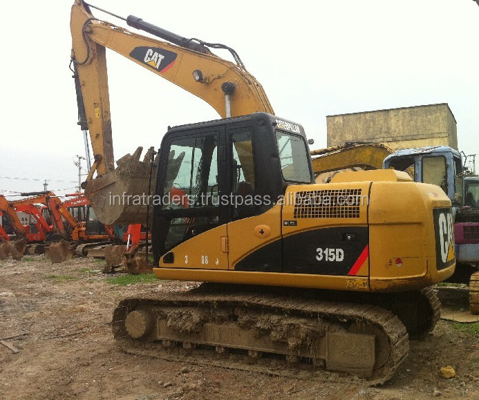 used Caterpillar/CAT excavator 315D,Hot sell Used Cat 315D crawler excavator import from Japan, Used CAT 315D crawler excavator