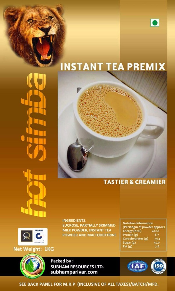 INSTANT TEA PREMIX FLAVORED