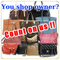 Used designer genuine leather handbag popular among the world such as gucci