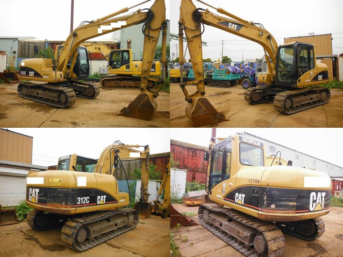 312C Used Caterpillar Excavator Used to Japan <SOLD OUT>
