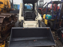 Used Bobcat model S130 skid steer loader brand equipment bobcat s160,s185