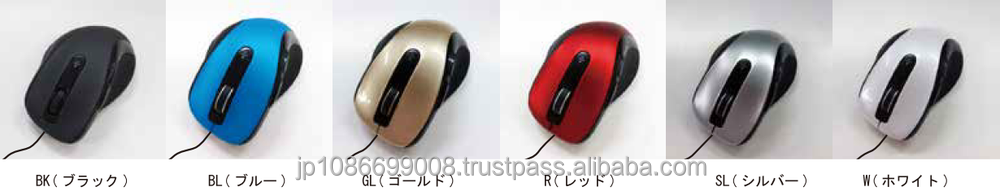 Easy to use ergonomic mouse with Japanese quality