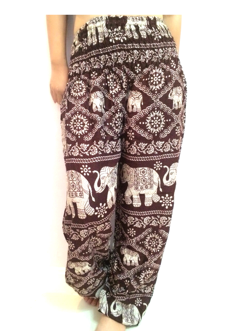 Harem Pants Elephant Pants Thailand Bangkok Trouser Hippie