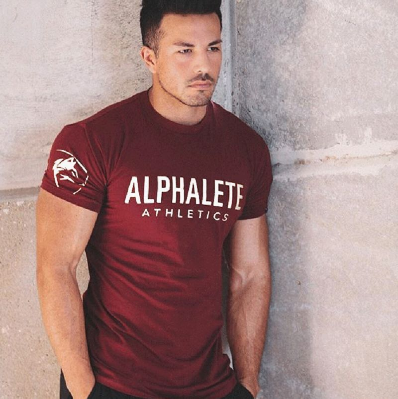 Wholesale - O neck - Body Building Style - Printed Designed -T-shirt For Men/Women