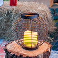 Metal Black Wire Candle votive Lantern