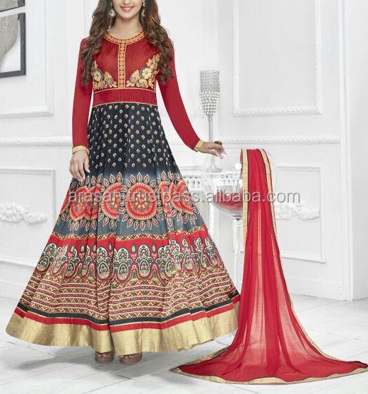 Latest fashion-Gerogette salwar suit at low prices
