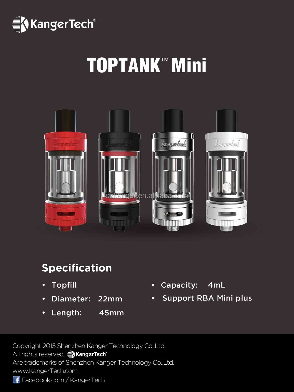 topbox mini ,2016newest 100%kangertech new products