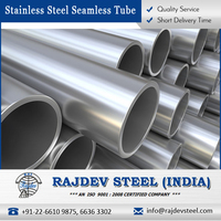 Indian Manufactured Stainless Steel Seamless Tube 304L for Bulk Sale