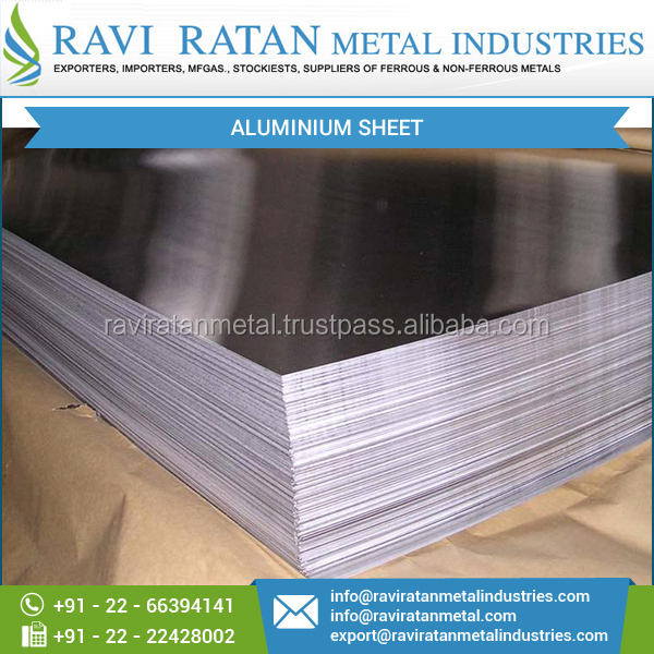 2017 High Grade Corrosion Resistant Aluminium Sheet at Best Market Price