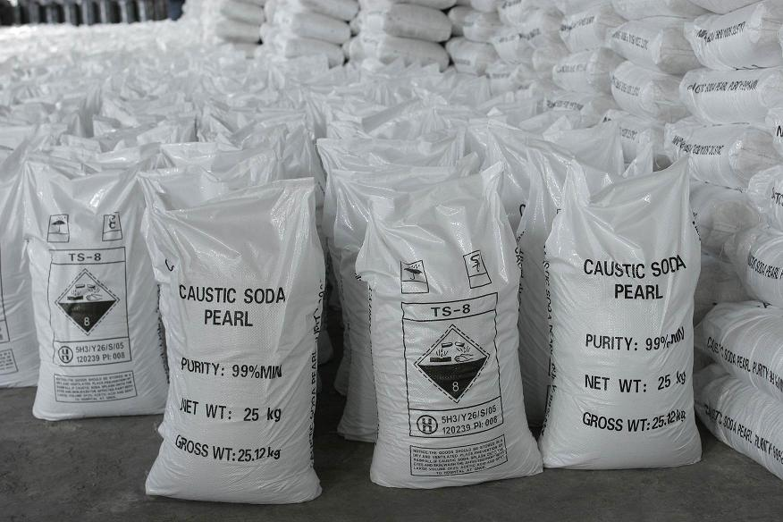 Price for Sodium Hydroxide 99% Caustic Soda Pearls