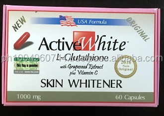 60 caps ActiveWhite Active White L glutathione with Grapeseed
