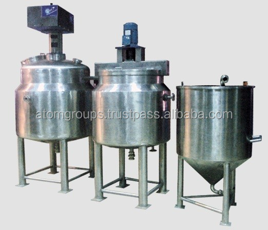 Liquid Soap Mixer Machine