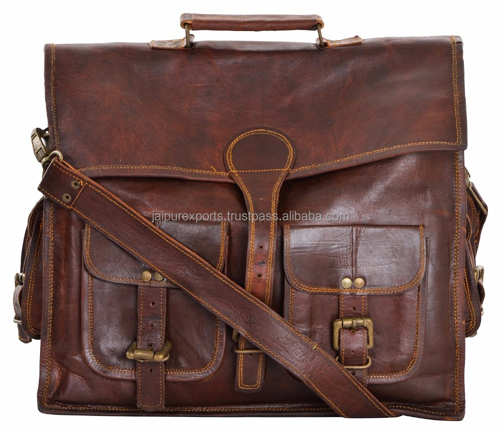 2016 Latest Elegance Woman Leather Laptop Bag