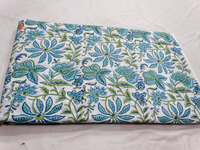 Sanganeri Hand Block printed Cotton Fabric/Floral Natural dye print cotton fabric Sell Online