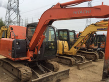 Used Hitachi ZX60 Hydraulic Excavator in high quality, Used Japan original small digger Hitachi ZX60 almost new