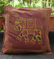 Embroidery Decor India Ethnic Indian Elephant Pillow cushion covers