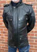 The Roadster Naked Leather Jacket Amazing Quality By Blue King Leather