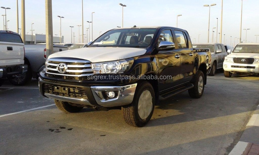 2016 Model Toyota Hilux 2.5 Turbo Dieasel 4WD Double Cabin, manual transmission