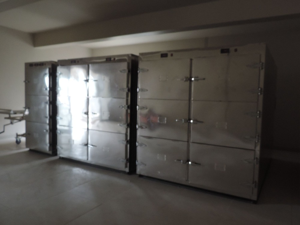 supply mortuary cooler room for body storage cheap auto defrost