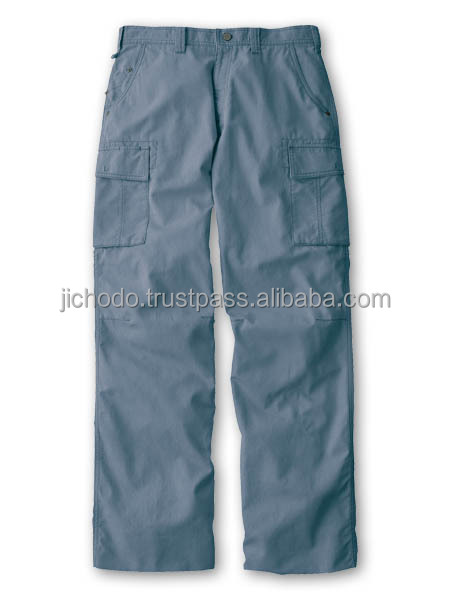 Trouser pocketing / Flat front cargo pants. Made by Japan