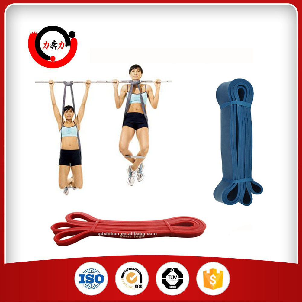 8 Pieces Workout Resistance Power Band Set