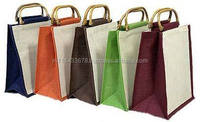 popular jute fibre shopping bag