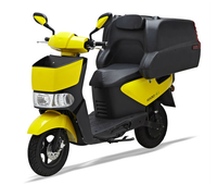 Fast Food Delivery Box E- scooter with removable Lithium Battery(PEDA MOTOR)