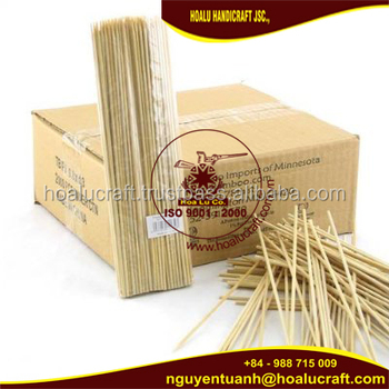 Vietnam high quality bamboo kewers