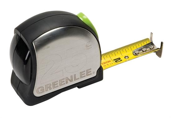 Greenlee 12479, 0155-25A 25ft Power Return Measuring Tape