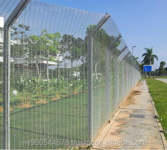 Anti-Climbing 358 Security Fence/High Security /Prison Mesh Fence