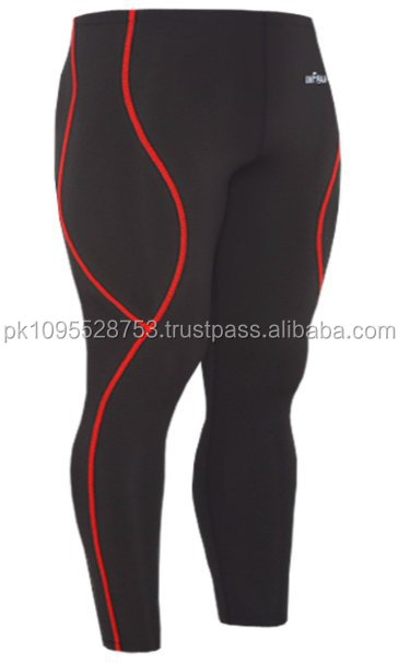 Anti shrink fabrci made yoga tight/ Compression tight